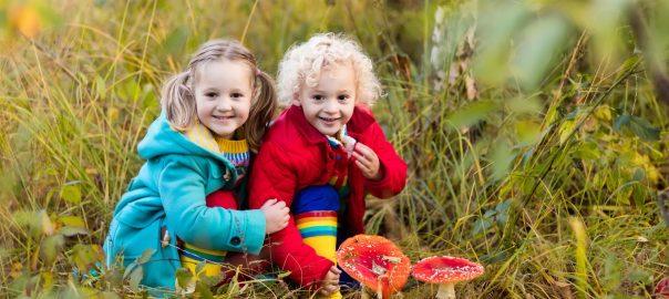 Kindergartenkinder, Schulklassen Besuch der Waldschule Solingen
